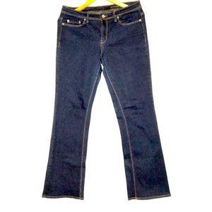 Calvin Klein lean boot cut jeans
